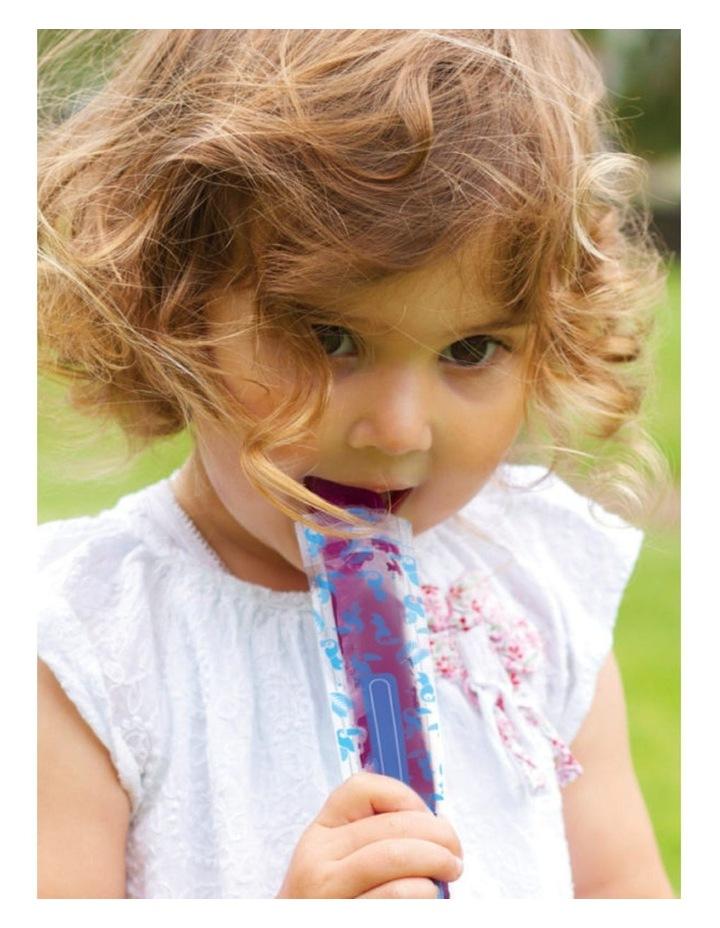 Reusable Freeze n Squeeze Ice Pop Pouches -Toucan Blue & Rainforest Green 20pk / New image 2