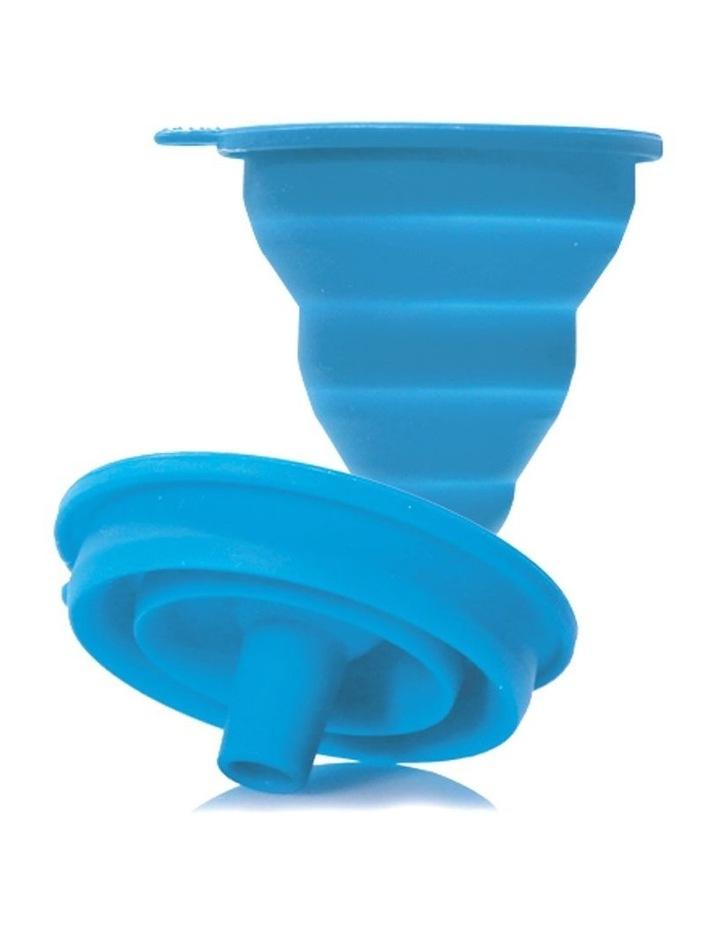 Reusable Freeze n Squeeze Ice Pop Pouches -Toucan Blue & Rainforest Green 20pk / New image 5