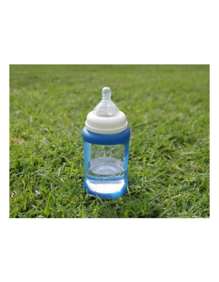 Colour Change Glass Bottles Wide Neck 240ml Single Pack   Blue image 2