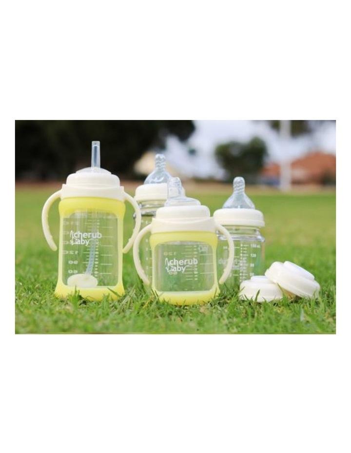Glass Baby Bottles Starter Kit - Yellow image 2