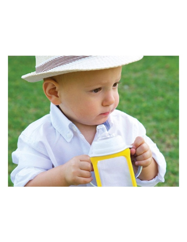 Glass Baby Bottles Starter Kit - Yellow image 3