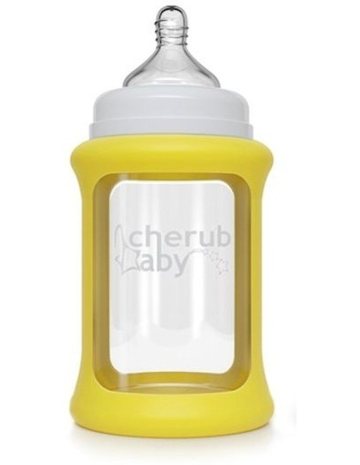 Glass Baby Bottles Starter Kit - Yellow image 4
