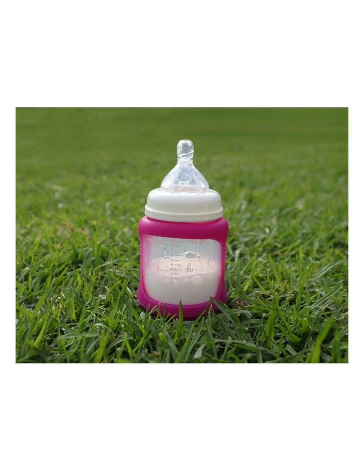 Glass Baby Bottles Starter Kit - Pink image 5