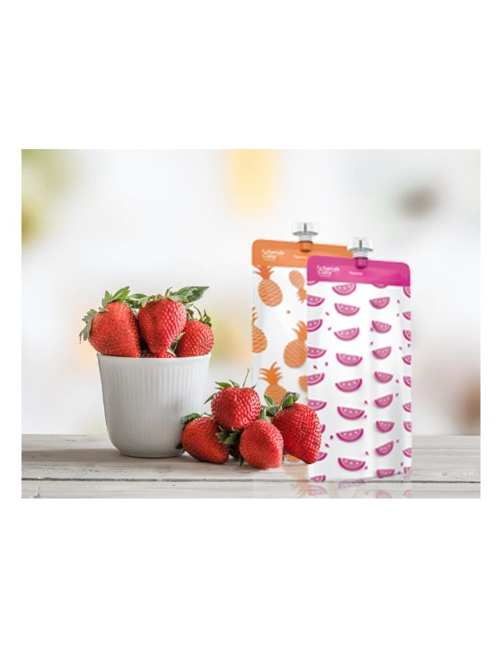 On The Go Mini Food Pouches - Neon Melon & Hot Pineapple 10 Pack image 6