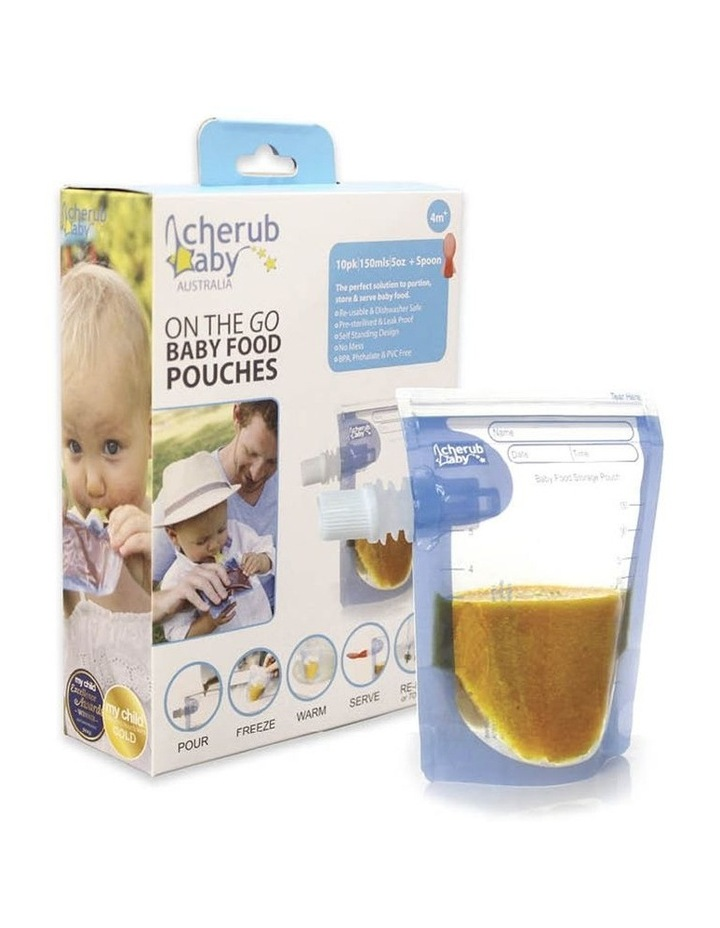 On The Go Baby Food Pouches Starter 10 Pack image 3