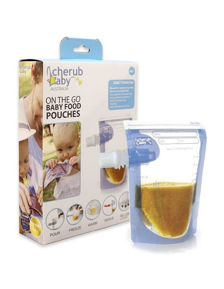 On the Go Baby Food Pouches Starter 20 pack image 2