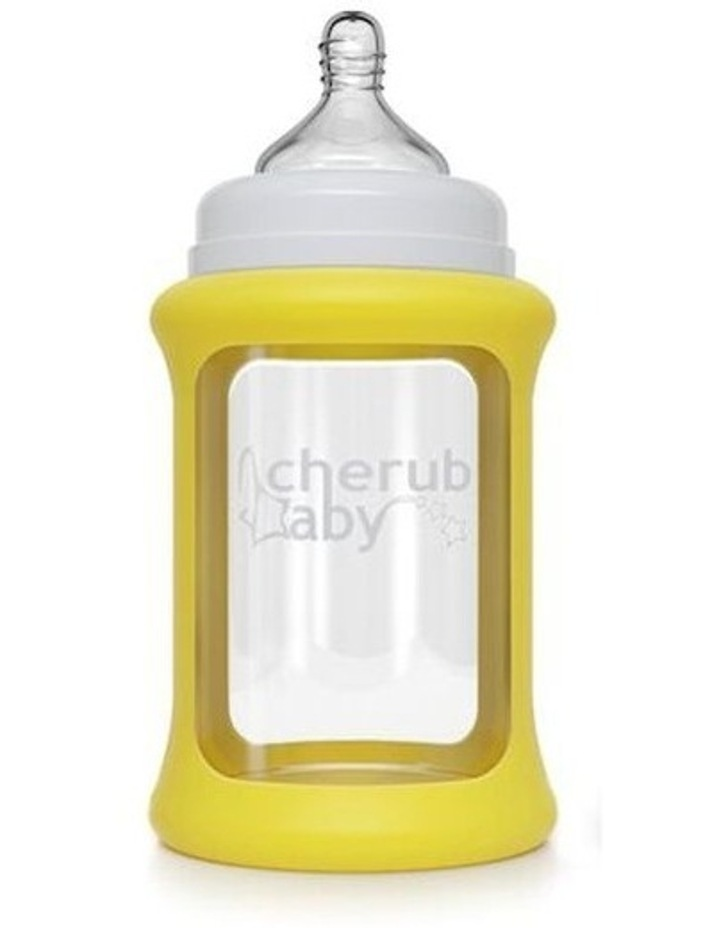 Colour Change Glass Bottles Wide Neck 240ml Single Pack Yellow image 1