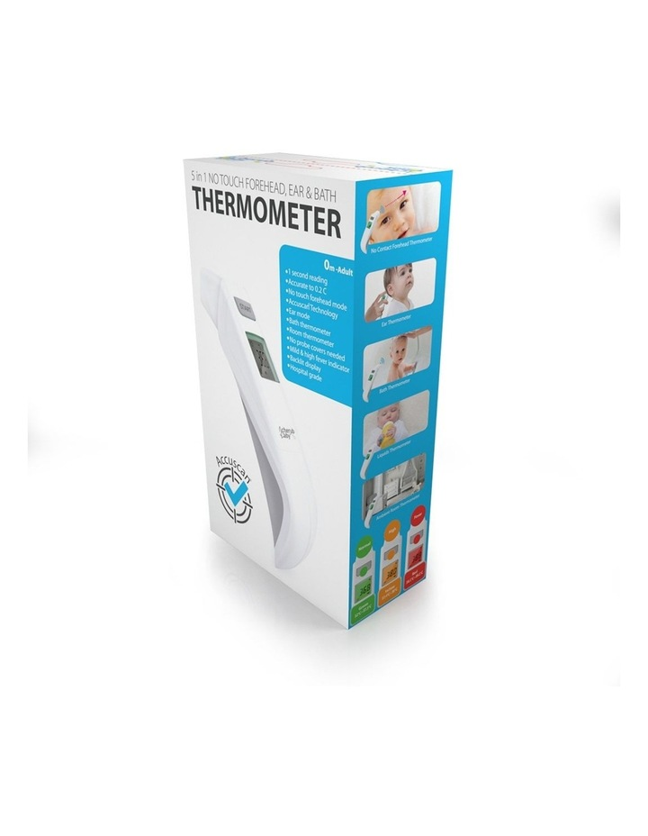 5 in 1 Forehead Ear and Bath Touchless Thermometer image 7