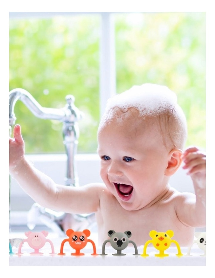 Cherub Baby 12pk Silicone Toddler Bath Toys Entire Collection image 2