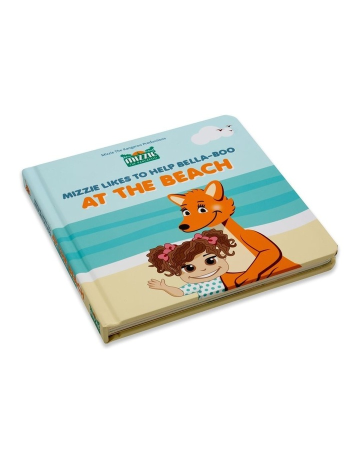At The Beach Interactive Touch and Feel Mizzie Baby Board Book image 1