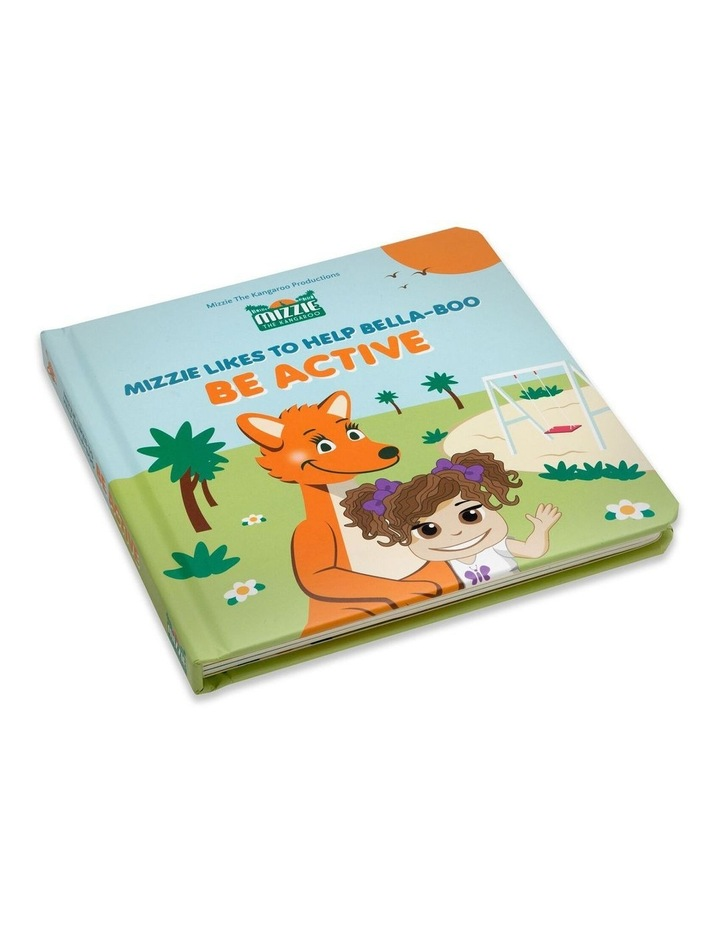 Be Active Interactive Touch and Feel Mizzie Baby Board Book image 1