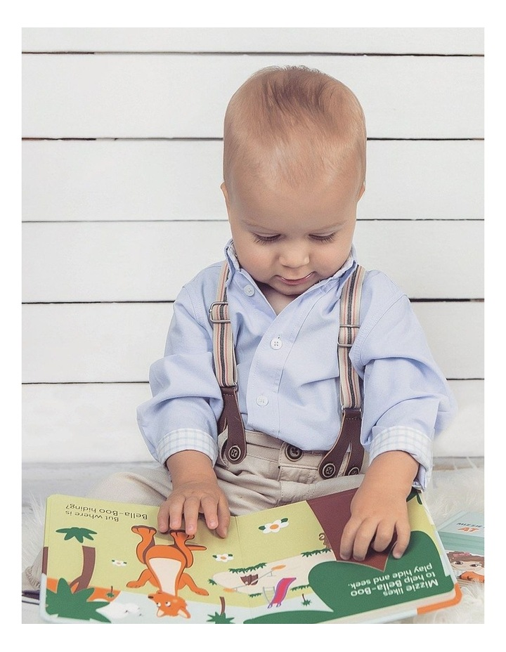Be Active Interactive Touch and Feel Mizzie Baby Board Book image 2