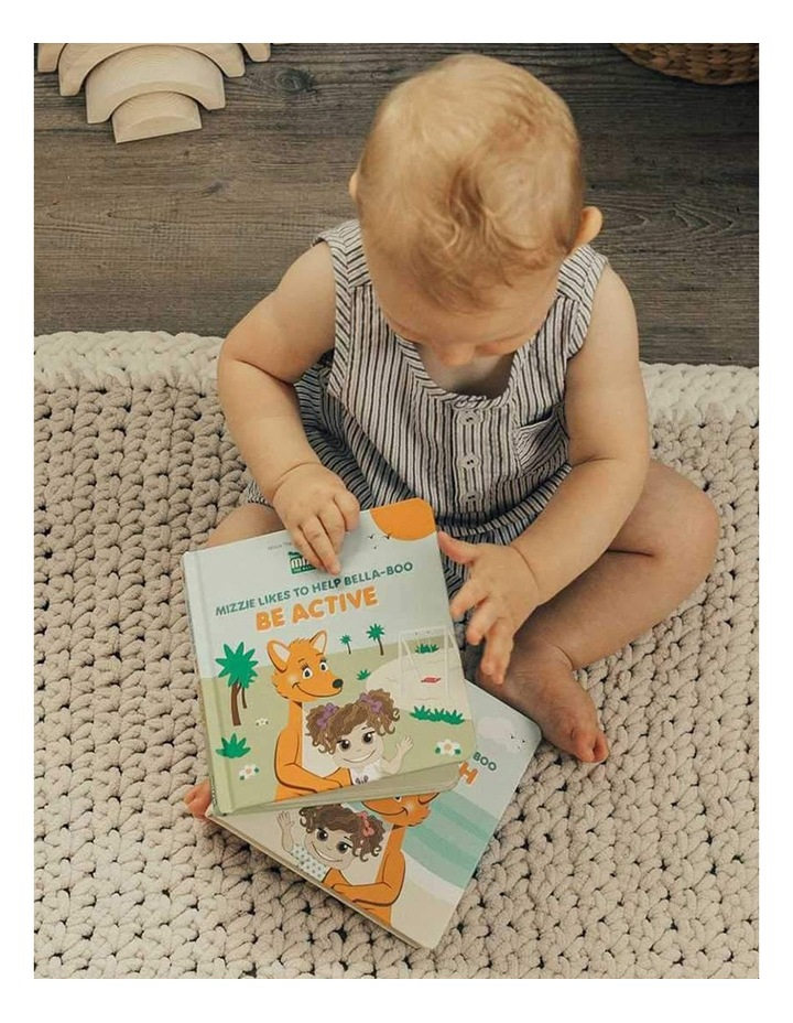 Be Active Interactive Touch and Feel Mizzie Baby Board Book image 3