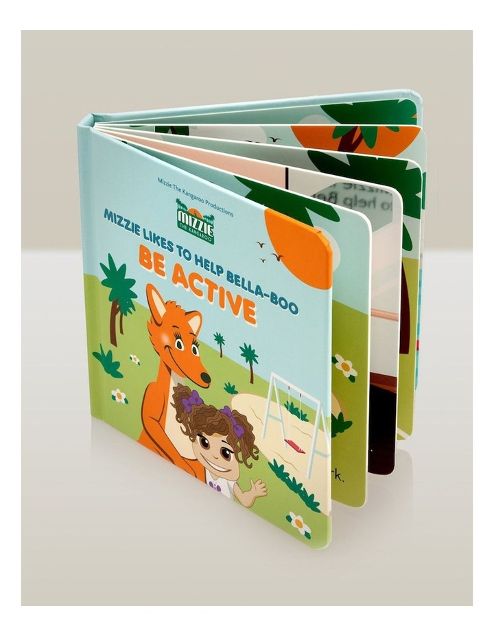 Be Active Interactive Touch and Feel Mizzie Baby Board Book image 4