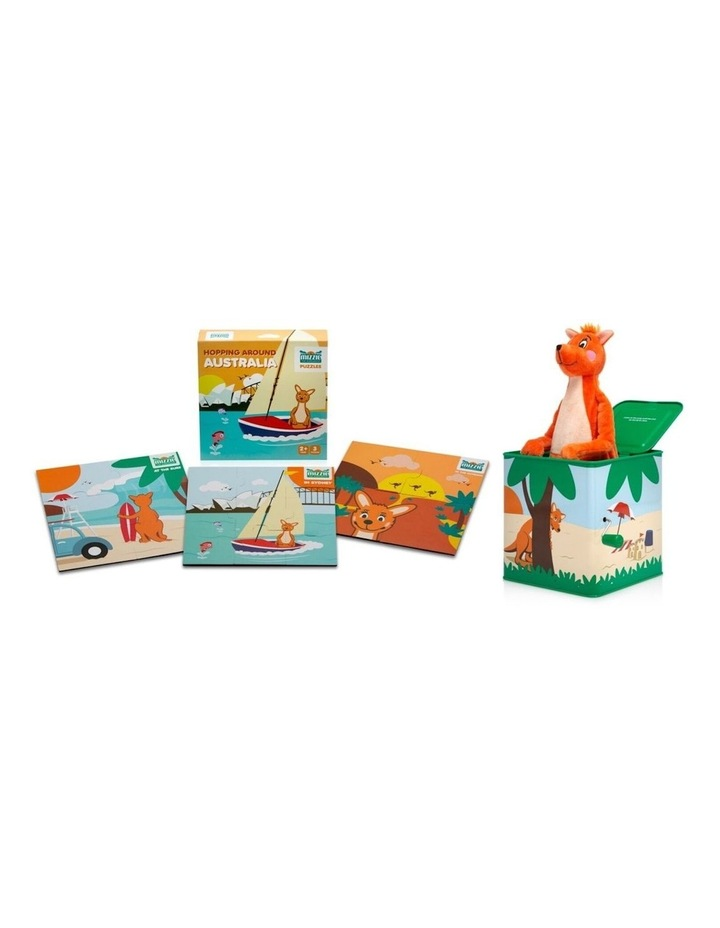 Toddler Learning Gift Set - Mizzie Music Box & Mizzie Puzzle image 1