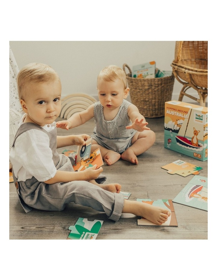 Toddler Learning Gift Set - Mizzie Music Box & Mizzie Puzzle image 3