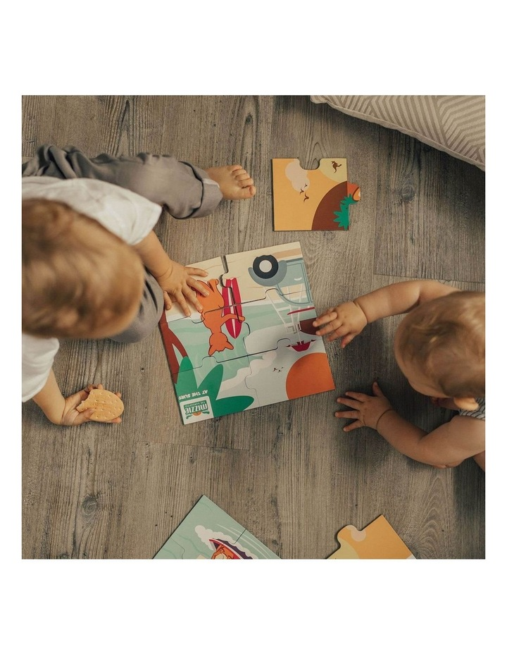 Toddler Learning Gift Set - Mizzie Music Box & Mizzie Puzzle image 5