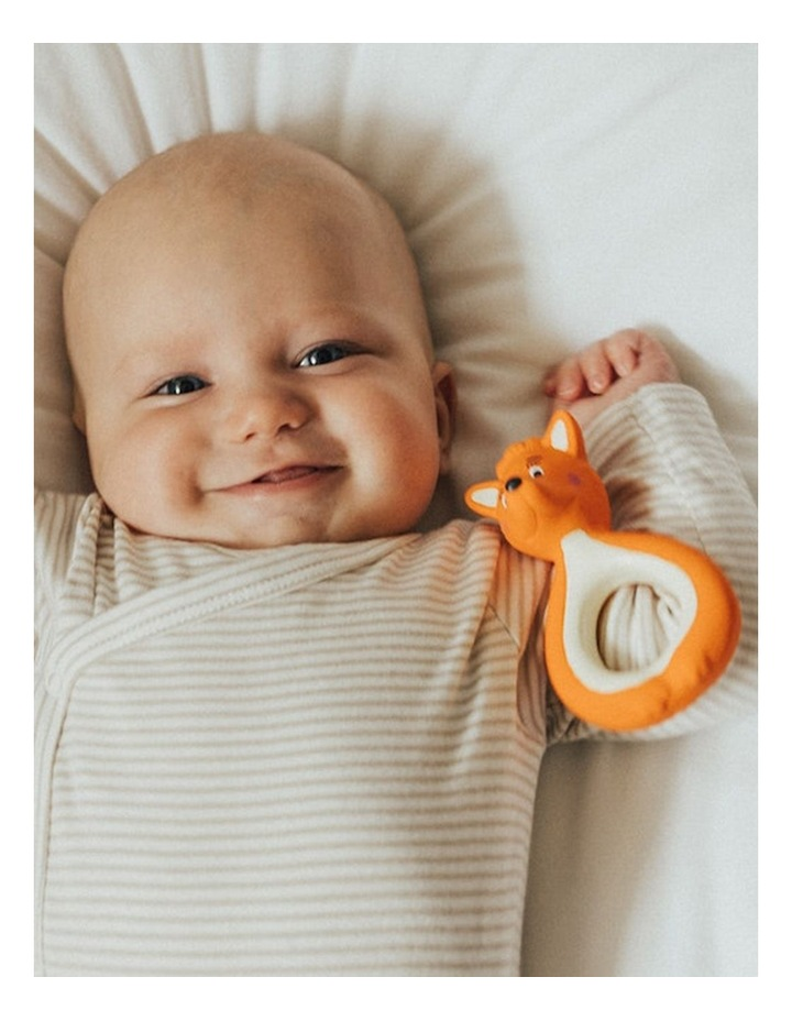 Mini Mizzie - 100% Natural Rubber Baby Teether image 3