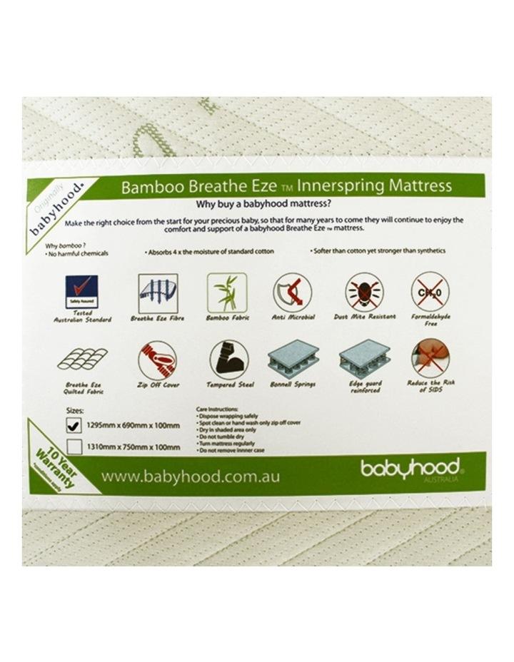 Bamboo Breathe Eze Innerspring Mattress image 2