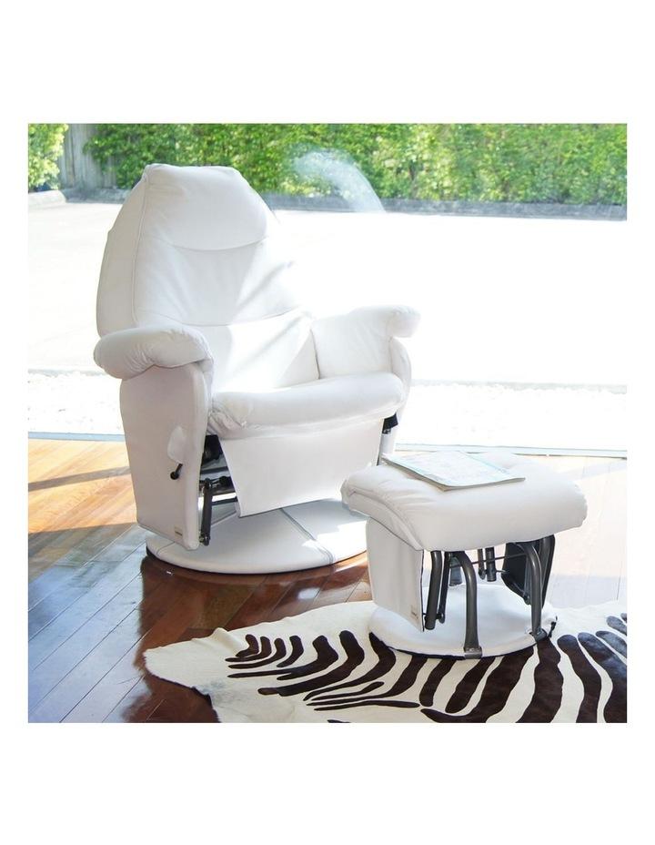 Vogue Feeding Glider Chair & Ottoman image 2