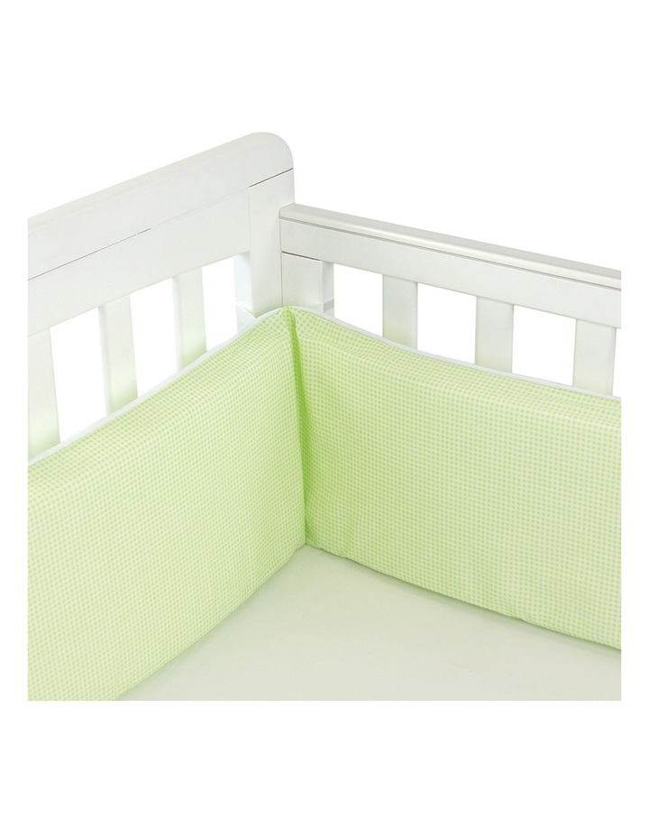 Breathe Eze Cot Bumper 3 Sided image 1