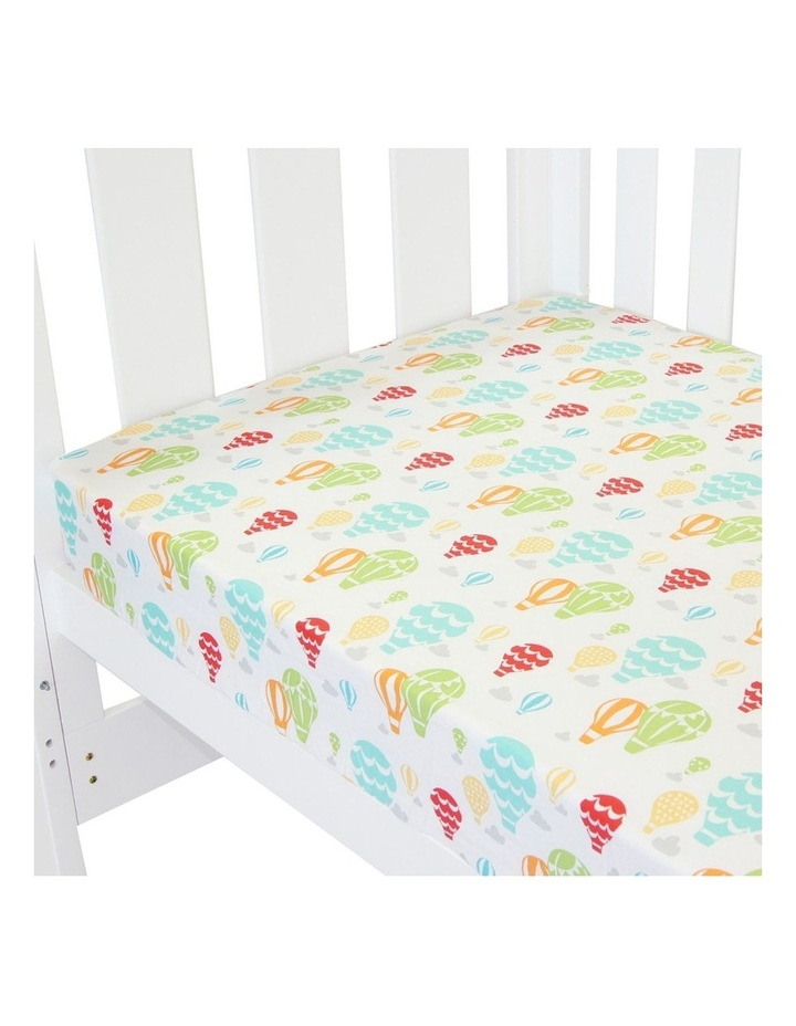 Amani Bebe Fitted Sheet Up In The Sky image 1