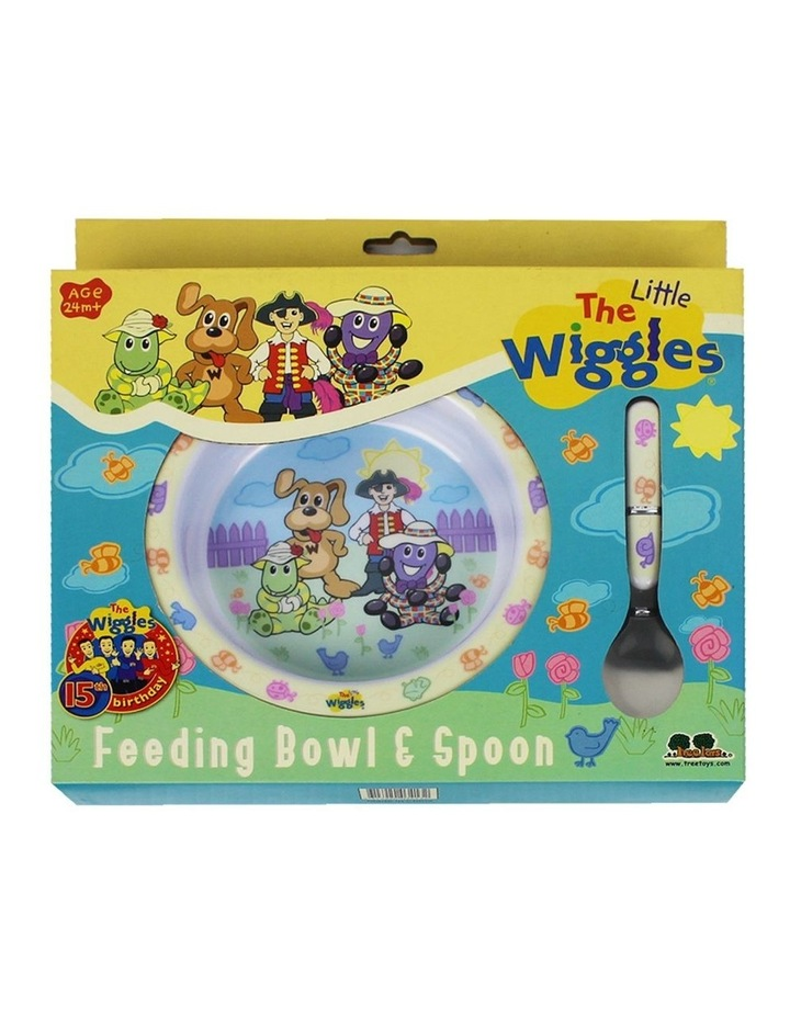 Wiggles Feeding Bowl And Spoon Set image 1