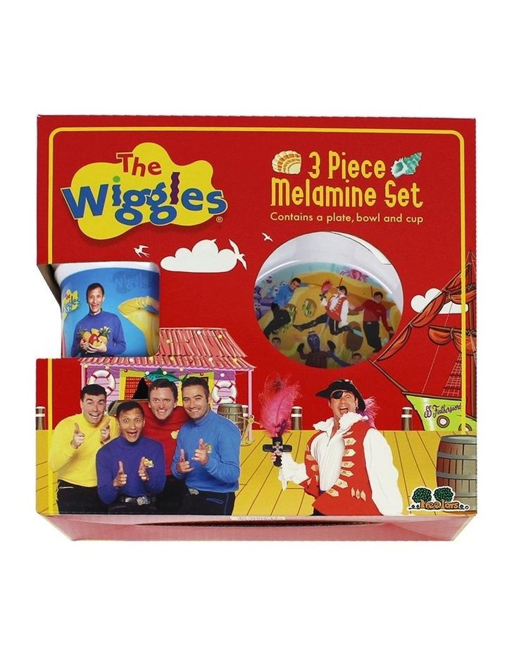 Wiggles 3pce Melamine Set image 1