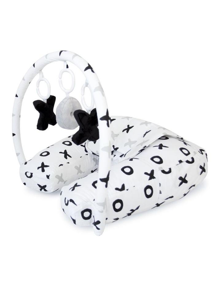 Organic Nursing Pillow with Toybar image 1