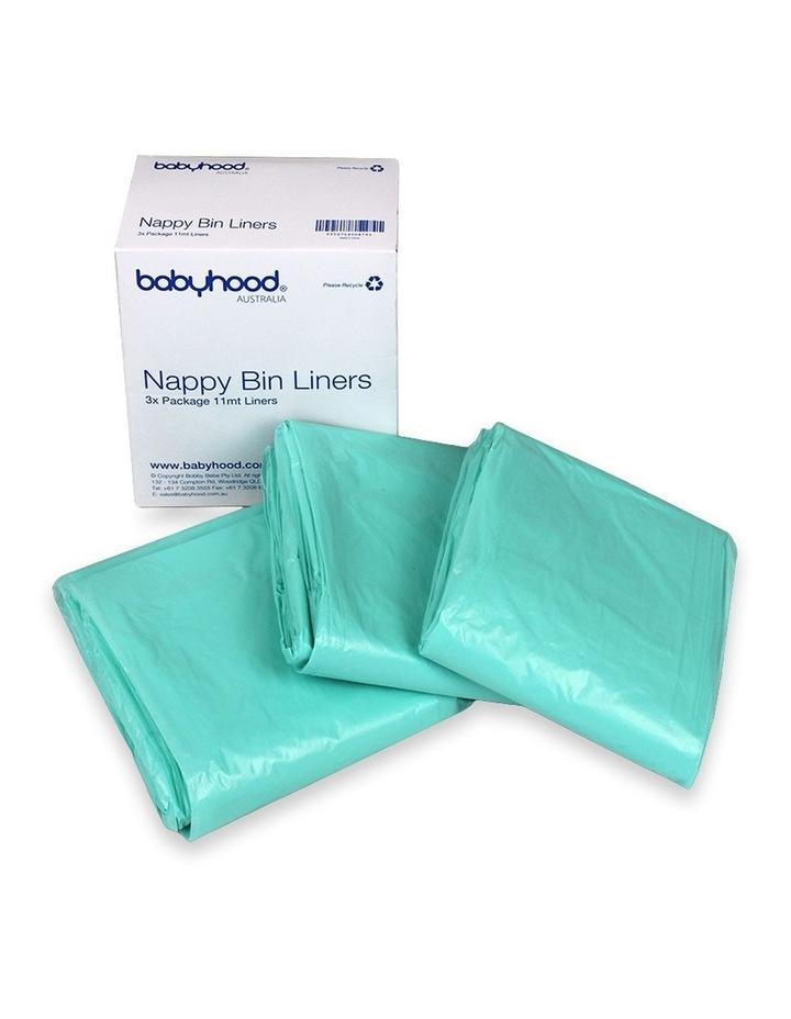 babyhood Nappy Bin Liner - 3 pack image 1