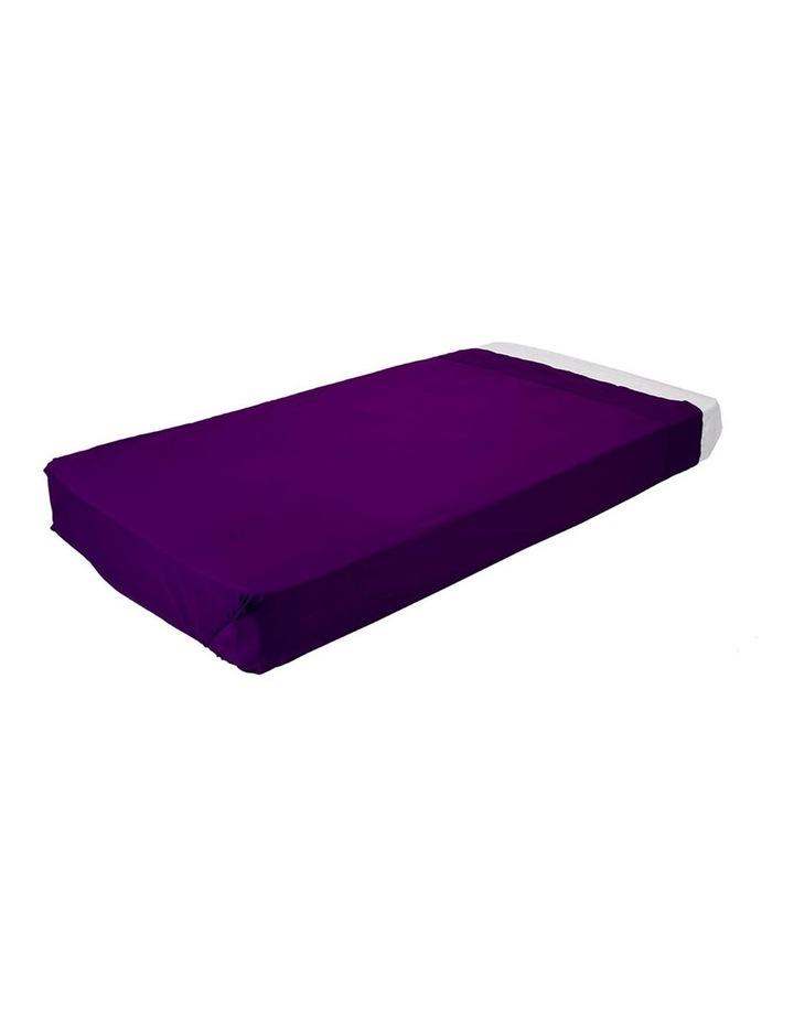 Kinder Flat Sheet - Purple image 1