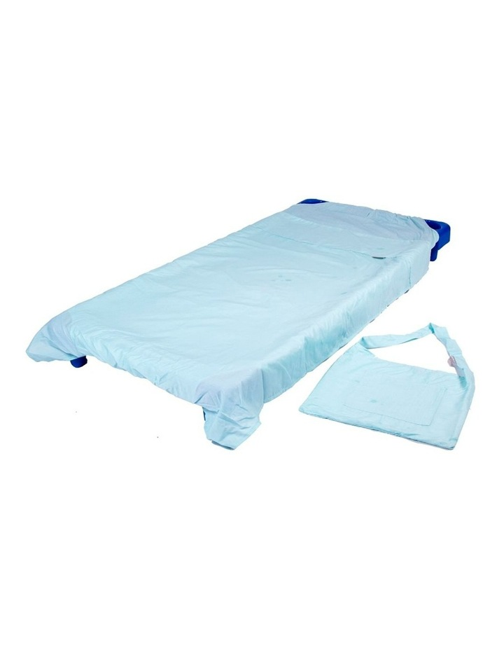 Stacking Cot Bed Sheet - Turquoise image 1