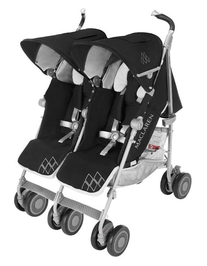 Maclaren Twin Techno Stroller - Black | MYER