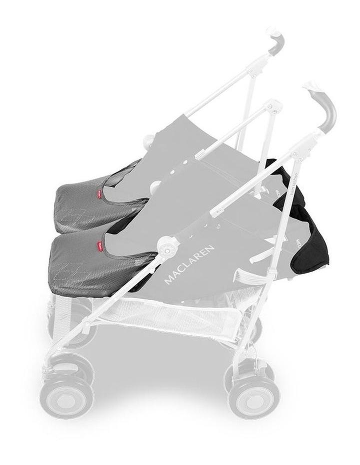 Twin Techno Stroller - Black image 3