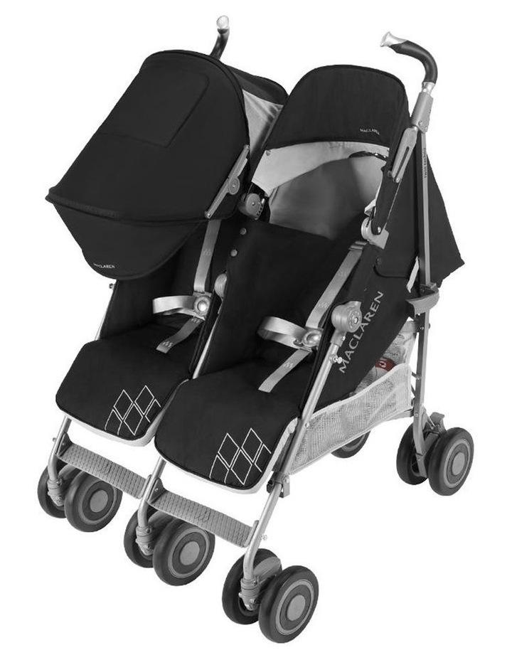 Twin Techno Stroller - Black image 4