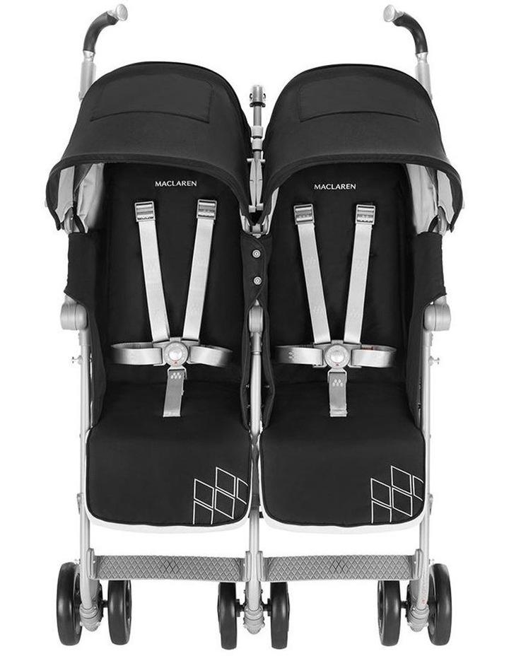 Twin Techno Stroller - Black image 5