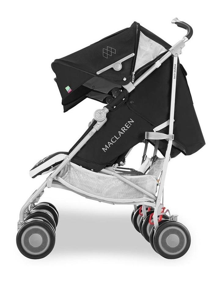 Twin Techno Stroller - Black image 6