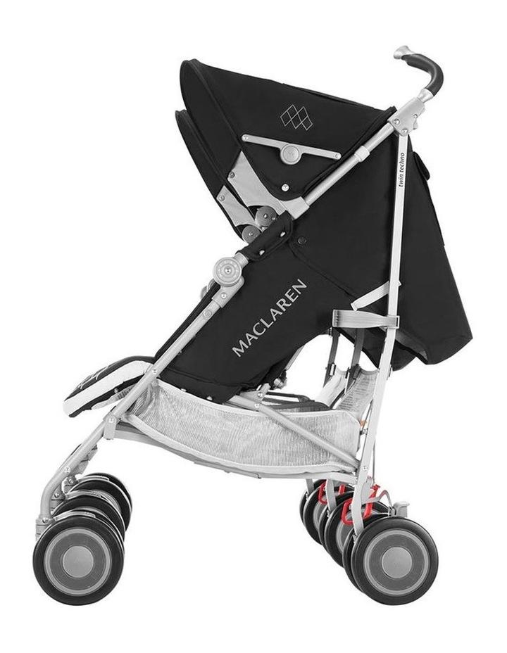 Twin Techno Stroller - Black image 7