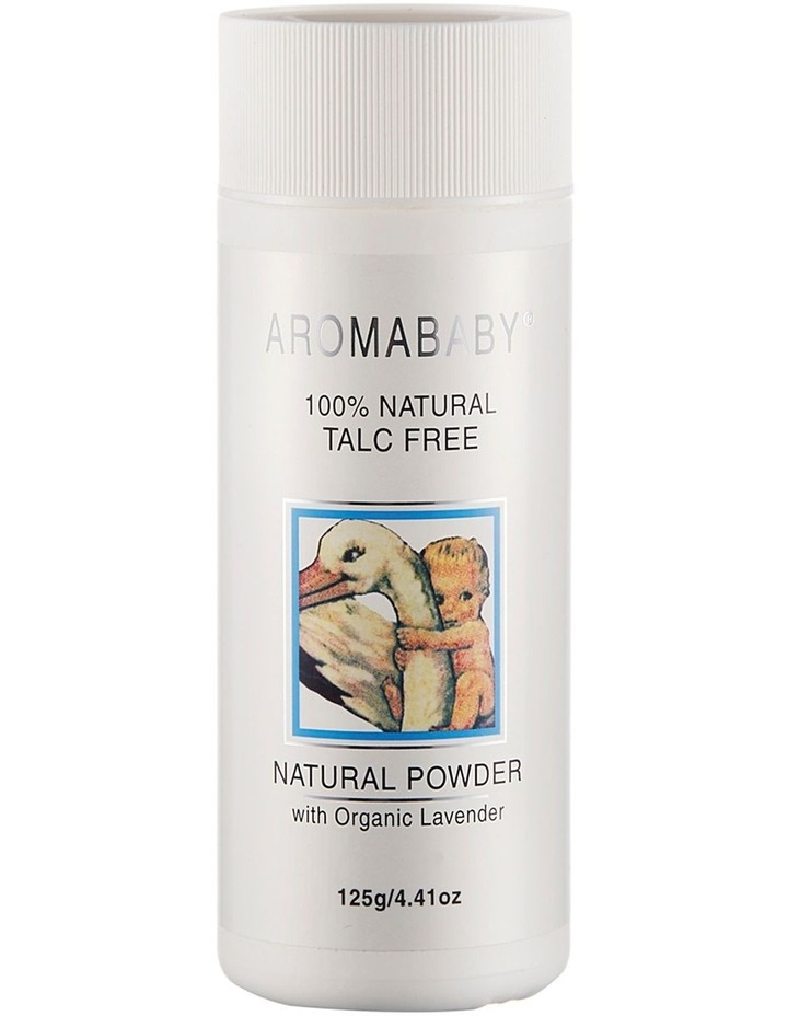2 x Aromababy Natural Cornstarch Baby Powder image 1