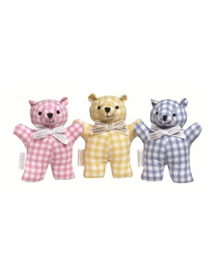 AROMABABY Cutie Pie Cotton Rattle Teddy Bear image 1