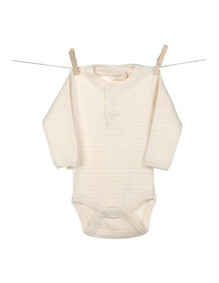 Organic Cotton Long Sleeve Bodysuit image 1