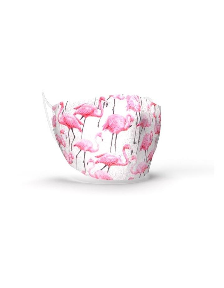 Fabric Face Mask - Flamingo image 1