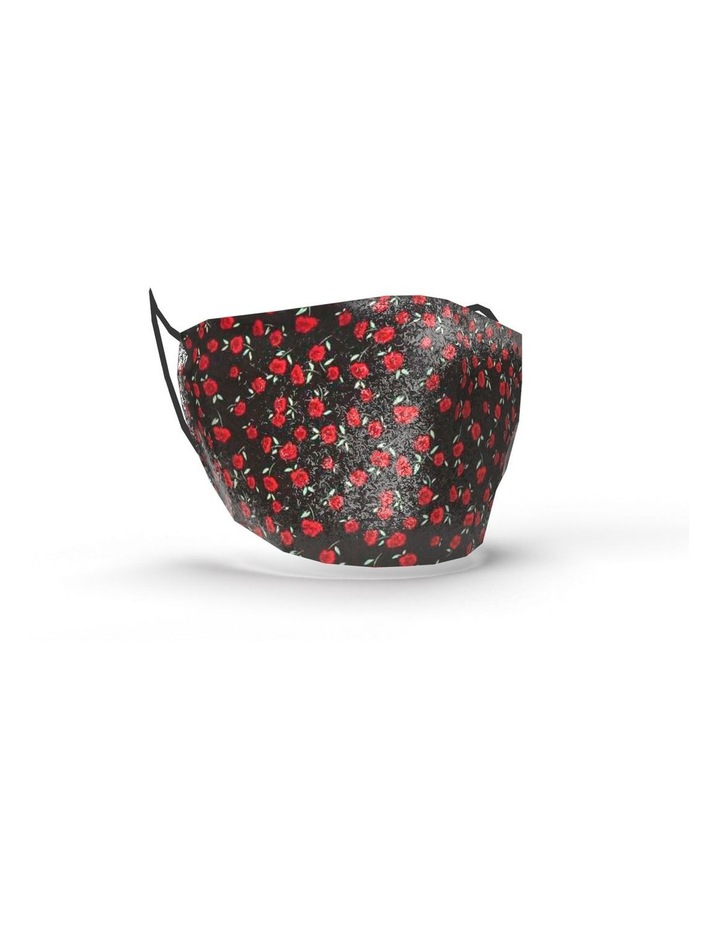 Fabric Face Mask  - Red Roses image 1