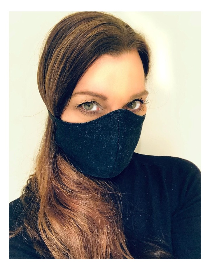 Aromababy Fabric Face Mask - Blue Jeans image 2