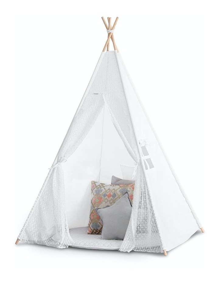 Kids Teepee Tent - Lace image 1