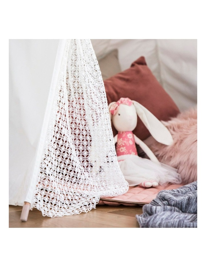 Kids Teepee Tent - Lace image 3
