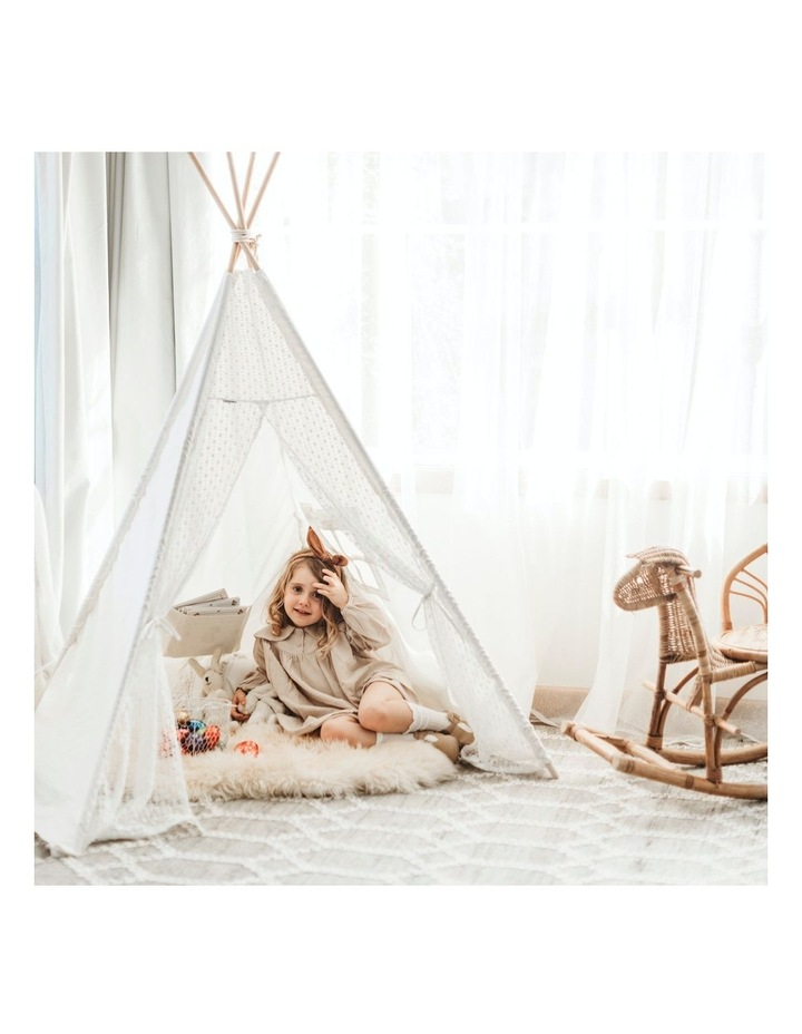 Kids Teepee Tent - Lace image 4