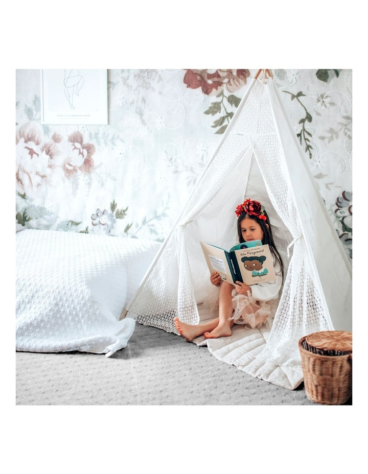 Kids Teepee Tent - Lace image 5