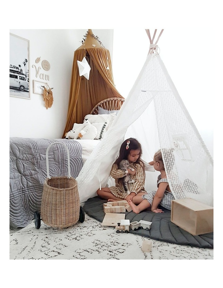 Kids Teepee Tent - Lace image 6