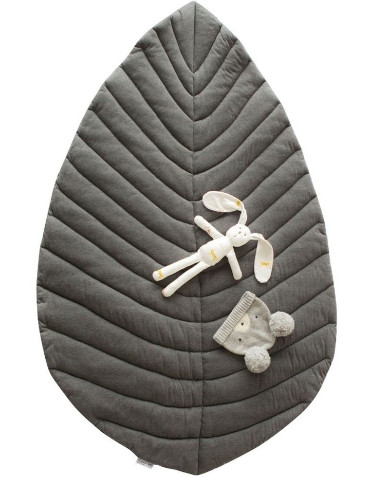 Leaf Cotton Play Mat - Grey image 1